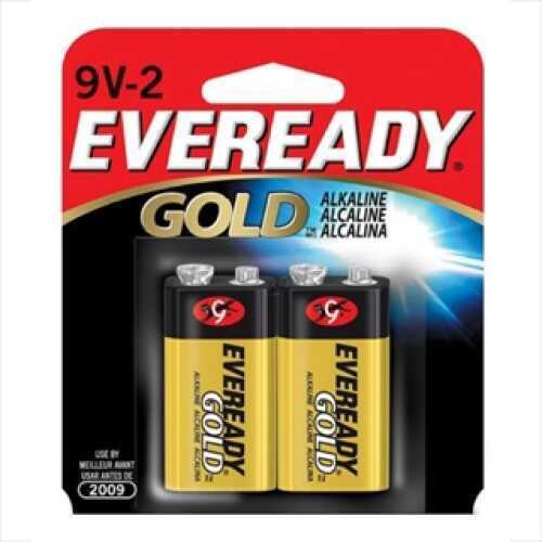 Energizer Eveready Gold 9V Battery Per 2 A522BP-2