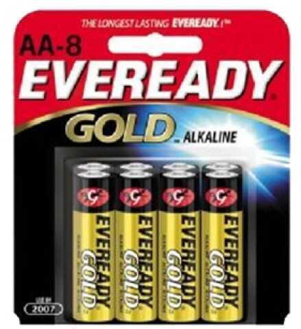 Energizer Eveready AA Batteries Per 8 A91BP-8