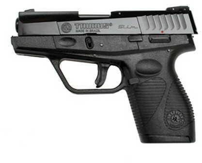 """Taurus PT 740 Slim 40 S&W 3"""" Barrel Blued Polymer Grip Fixed Sights 6+1 Rounds Semi-Auto Pistol 1740031FS"""
