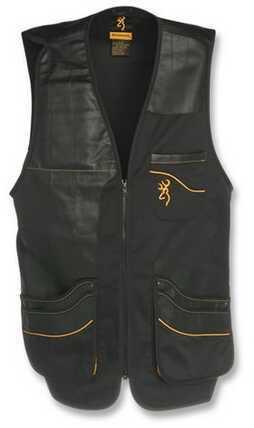 Browning Master-Lite Shooting Vest, Black Medium 3050309902