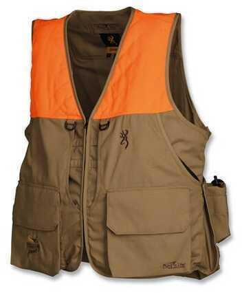 Browning Bird-N-Lite Pheasants Forever Vest, Khaki X-Large 3056895804