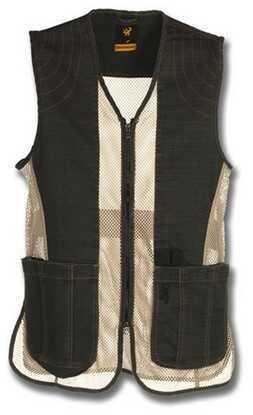 Browning Rhett Mesh Vest Charcoal/Tan Large 3050297903