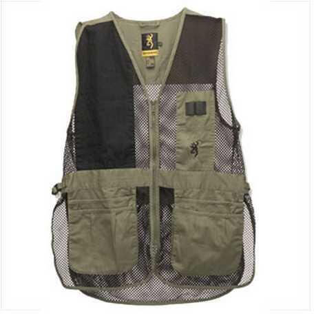 Browning Trapper Creek Vest Sage/Black Medium 3050265402