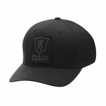 Browning Charlie FlexFit Black Cap Small/Medium 308552992
