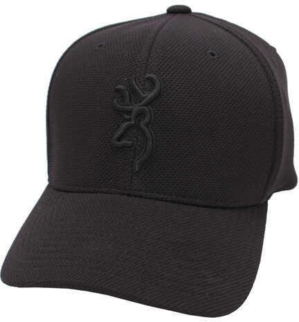 Browning Coronado Pique Cap Black, Small/Medium 308007992