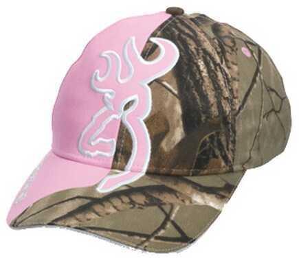 Browning Big BuckMark Hat Realtree AP/Pink Md: 308204212