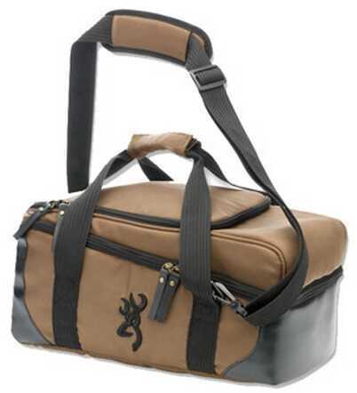 Browning Fortress 2 Tone Bag, Black/Brown 121008891