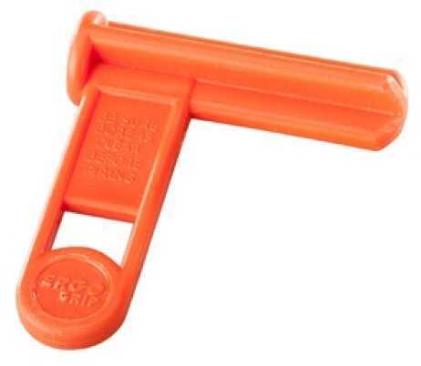 Ergo Shotgun Safety Chamber Flag Orange 4985-OR