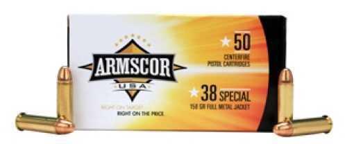 Armscor Precision Inc 38 Special 158Gr FMJ (Per 50) 50061