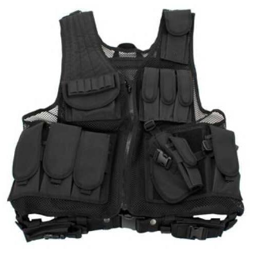Galati Gear Black Deluxe Tactical Vest - Standard GLV547B-M