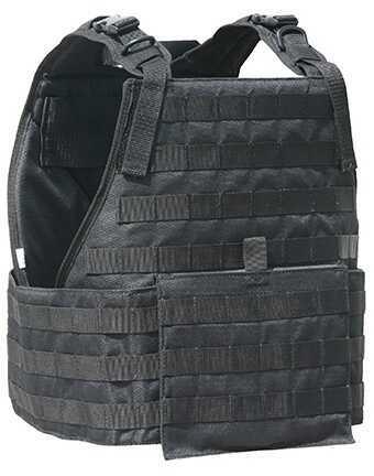 Galati Gear Plate Carrier Vest w/Cumber Bund, Black GLPC560-B