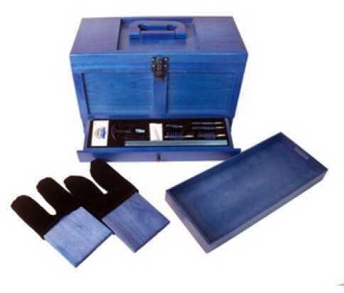 Gunmaster by DAC DAC Gunmaster Wooden Toolbox with Universal Gun Cleaning Kit 17 Piece TBX736-1