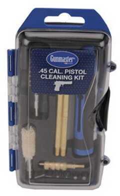 Gunmaster by DAC 14 Piece Pistol Cleaning Kit w/6 Piece Driver Set 44/45 Caliber GM45P