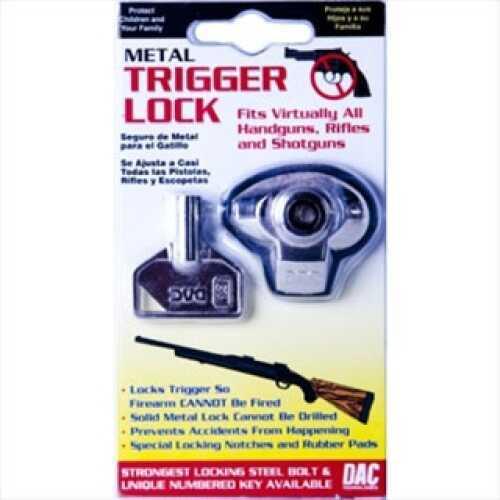 Gunmaster by DAC Metal Trigger Lock Single, Clam Pack MTL099