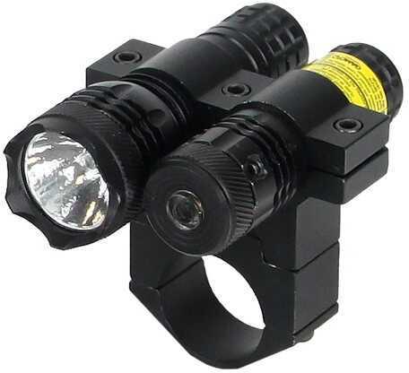 "BSA 650nM Red Laser w/80 Lumen Light, 1"" Mount TWLLCP"