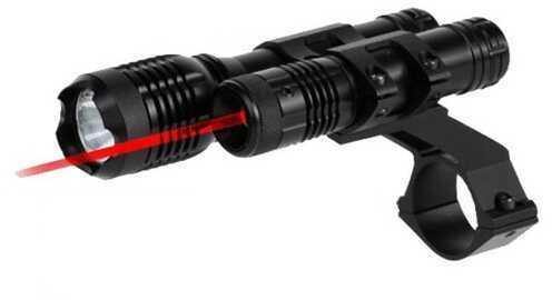 "BSA 650nM Red Laser w/160 Lumen 1"" Mount TWLLRCP"