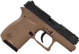 "Diamondback Firearms 380 ACP 6+1 Rounds 2.8"" Barrel Flat Dark Earth Polymer Frame Black Slide Semi Automatic Pistol DB380"