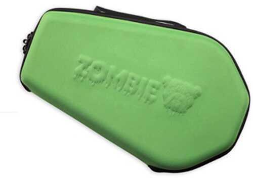 Bulldog Cases 14x9 Molded Nylon Coffin Shaped Pistol Case Zombie Green ZMB-510G