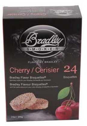 Bradley Technologies Smoker Bisquettes Cherry (24 Pack) BTCH24
