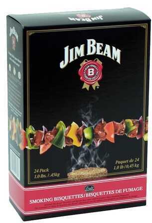 Bradley Technologies Smoker Bisquettes Jim Beam 24 Pack BTJB24