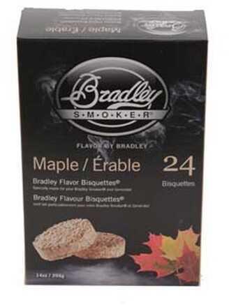 Bradley Technologies Smoker Bisquettes Maple (24 Pack) BTMP24