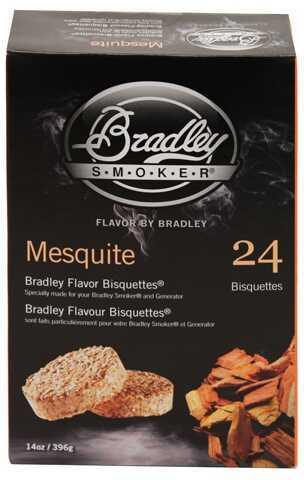 Bradley Technologies Smoker Bisquettes Mesquite 24 Pack BTMQ24