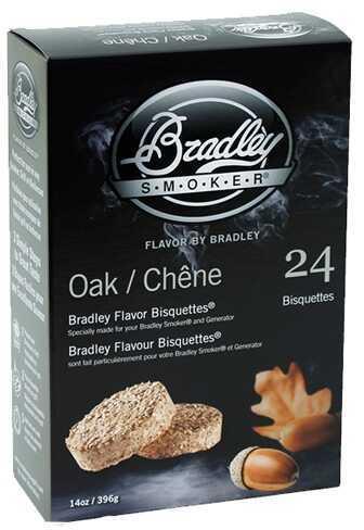 Bradley Technologies Smoker Bisquettes Oak 24 Pack BTOK24