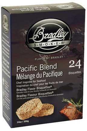 Bradley Technologies Smoker Bisquettes Pacific Blend 24 Pack BTPB24