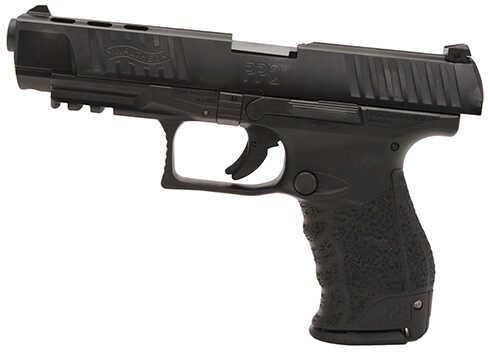 "Walther PPQ M2 40 S&W 5"" Barrel Black Finish Semi-Auto Pistol 2796104"