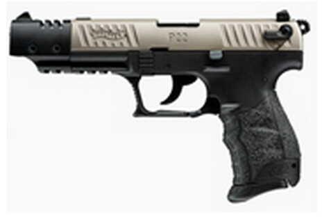 "Walther P22 Pistol  22 Long Rifle Target Pistol  Nickel 5"" Barrel   Semi Automatic Pistol  CA  5120337"