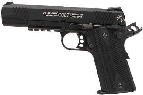 Walther Colt 1911 22 Long Rifle Semi Automatic Pistol Rail Gun Black 10 Round 517030810