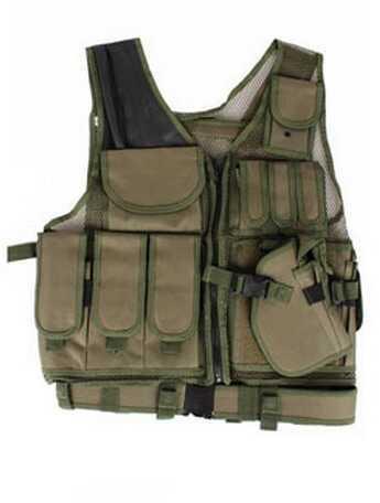 Global Military Gear Tactical Vest - OD Green GM-TV1-OD
