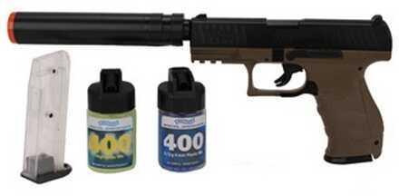 Umarex USA Walther PPQ Combat Kit, Dark Earth Brown 2272545