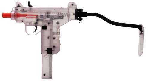 Umarex USA Mini UZI Spring Airsoft Pistol Clear 2278403