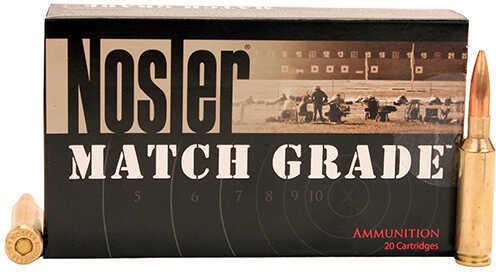 Nosler Match Grade Ammunition 6.5 Creedmoor, 140 Grains, Custom Competition Hollow Point Boat Tail, Per 20