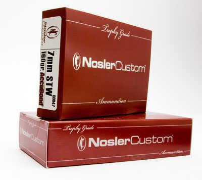 Nosler 7mm Shooting Times Westerner, Trophy Ammunition 160 Grains AccuBond (Per 20) 60047