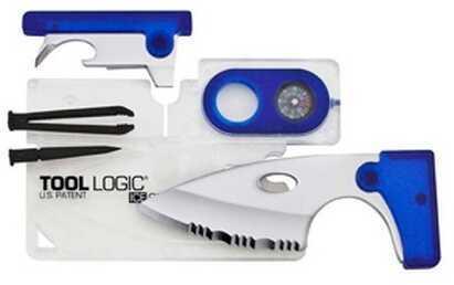 SOG Knives ICE Companion w/Lens/Compass-Clear/Blue ICC1B