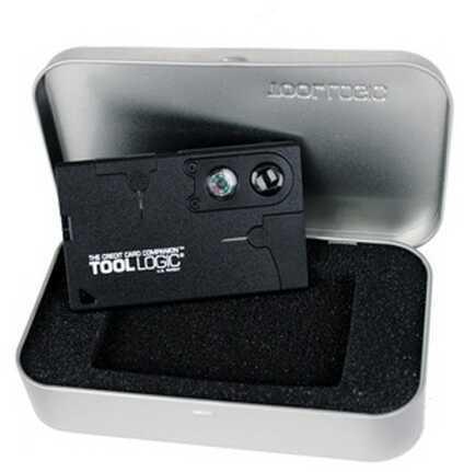 SOG Knives Credit Card Companion w/Lens/Compass-Black CC1SB