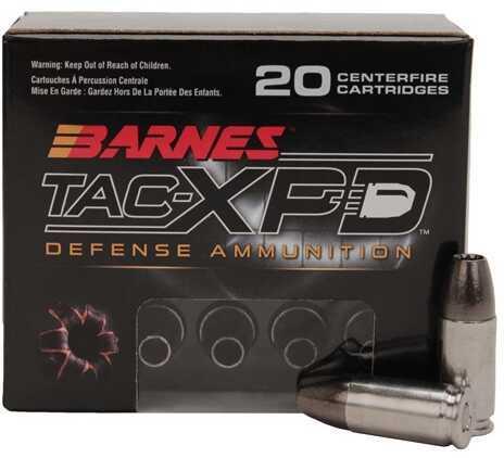 Barnes Bullets 9mm Luger +P 115gr Barnes AC-XPD 20 Rounds Ammunition 21551