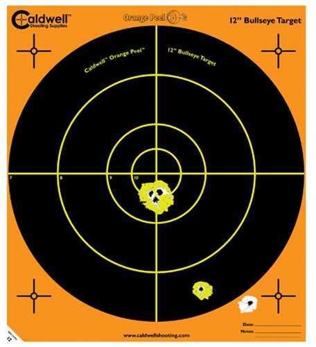 "Caldwell Orange Peel 12"" Bulls-Eye 100 Sheets 121005"