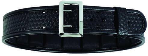 "Bianchi 7965 ErgoTek Padded Sam Browne Belt Brass Buckle, 38"", Hi-Gloss Md: 22816"