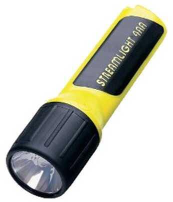 Streamlight 4AA LED w/Alkaline Batteries, Box, Yellow 68251