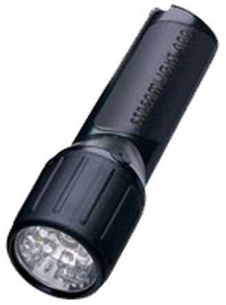 Streamlight 4AA LED White LEDs w/o Alkaline Batteries, Black 68300
