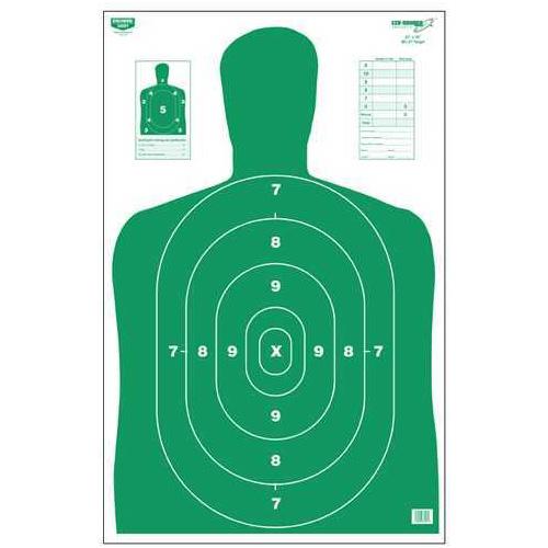 "Birchwood Casey Eze-Scorer Silhouette Green, 23"" x 35"" (Per 100) 37017"