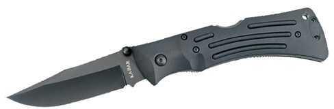Ka-Bar Mule, Black, Polyester Sheath Straight Edge Md: 4-3050CP-3