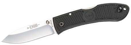 Ka-Bar Dozier, Black, Black Clip, Straight Edge Md: 4-4062CP-5