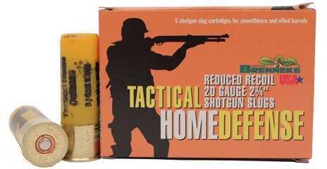 "Brenneke Tactical Home Defense Slug 20 Gauge 2.75"" .75 oz (Per 5) SL-202THD-2002925"