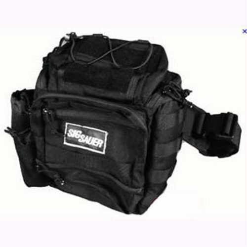 SigTac Shoulder Pack Tactical, Ambidextrous Black AMBI-SHOULDER-BAG-BLK