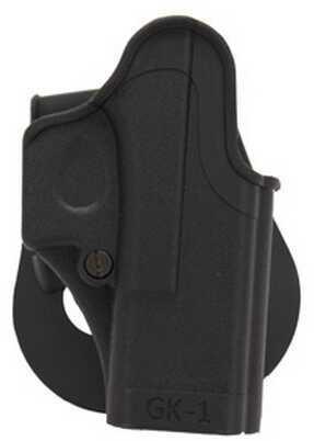 SigTac Standard Paddle Holster All Glock 9mm/40/357 Black, Right Hand HOL-GK1