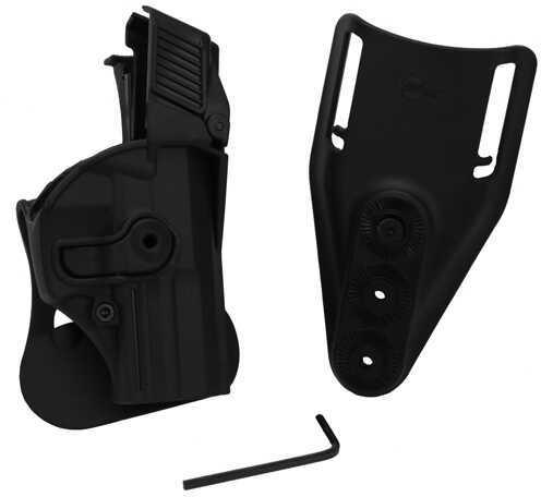 SigTac Retention Roto Paddle Holster USP Compact 9mm/40 LEVEL 3 Black HOL-RPR-USP2-LVL3